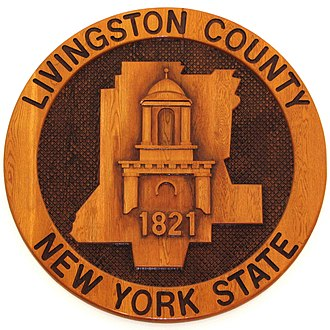 Livingston County, New York - Image: Seal of Livingston County, New York