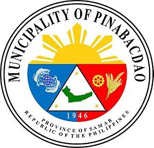 Pinabacdao, Samar - Image: Seal of Pinabacdao, Samar