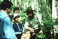 Seattle - Discovery Park ranger John Bierlein leading nature walk, circa 1985 (14886331416).jpg