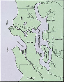 Bodies Of Water Of Seattle Wikipedia - Bodies of water in us map