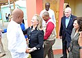Secretary Clinton Is Welcomed By Haitian President Martelly (8120196369).jpg