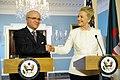 Secretary Clinton Shakes Hands With Algerian Foreign Minister Medelci (6686786937).jpg