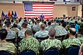 Secretary Kerry Addresses a Cross-Service Corps of U.S. Service Members Stationed at Camp Lemonnier (17393718432).jpg
