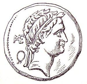 Seleucus IV Philopator - Image: Seleucus IV coin face