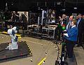 Senator Barbara Mikulski Visits NASA Goddard (24215768785).jpg