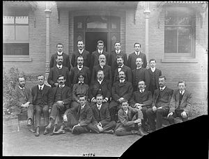 Clyde Engineering - The senior staff of Clyde Engineering in a historic photo