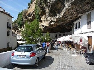 Setenil de las Bodegas - Image: Setenil De Las Bodegas P1050114