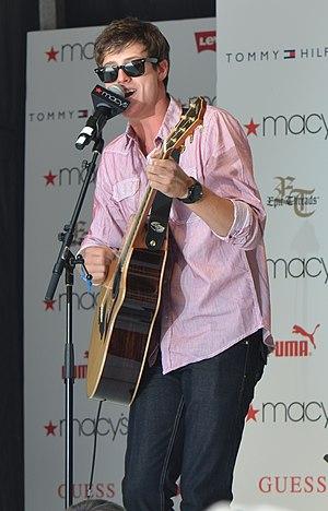 Shane Harper - Harper performing in July 2011.