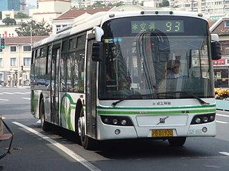 Volvo B7RLE - Shanghai Bus bodied B7RLE