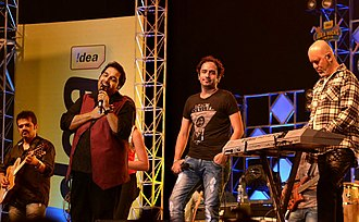 Shankar–Ehsaan–Loy - Shankar-Ehsaan-Loy at Idea Rocks India, Bangalore (6 April 2012)