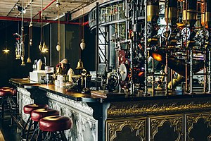 Steampunk - Truth Coffee, a steampunk café in Cape Town