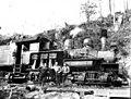 Shay locomotive CN 2834, Big Creek Logging Company, Knappa, ca 1918 (KINSEY 2106).jpeg