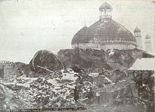 Shemakha Juma Mosque after 1902 earthquake (2).jpg