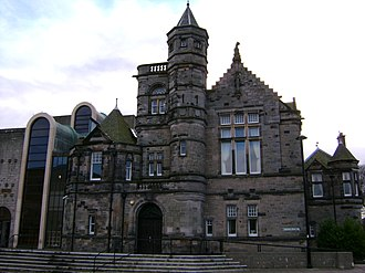 Courts of Scotland - an example of a sheriff court in Kirkcaldy