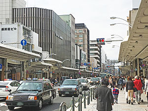 Shijō Street - A daytime scene on Shijo St