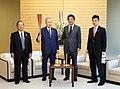 Shinzō Abe and Yoshirō Mori (2).jpg