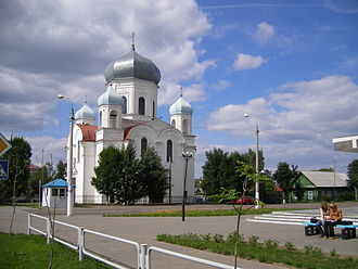 Shklow - The Transfiguration Church