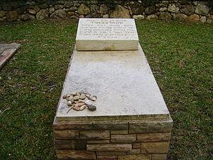 Sholom Schwartzbard - Sholem Schwartzbard's grave in Avihayil