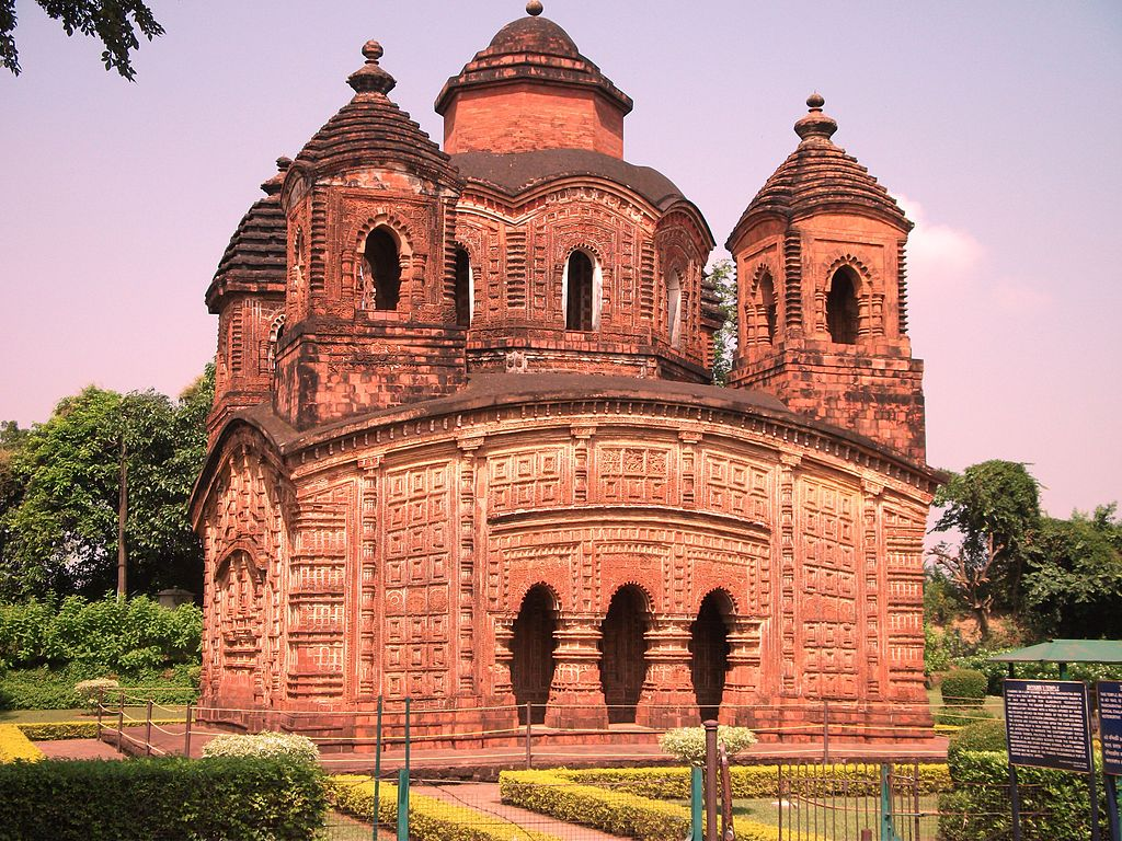 Shyam Rai Temple, Bankura.JPG