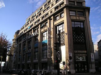 Hippolyte de Villemessant - Former offices of Figaro in Paris