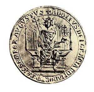 Seal of Adolf of Nassau
