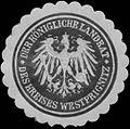 Siegelmarke Der K. Landrat des Kreises Westprignitz W0393777.jpg