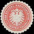 Siegelmarke Der Kaiserliche Kreisdirektor zu Chateau-Salins W0325658.jpg