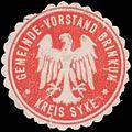 Siegelmarke Gemeinde-Vorstand Brinkum Kreis Syke W0384199.jpg