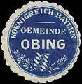 Siegelmarke Gemeinde Obing K. Bayern W0352293.jpg
