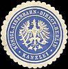 Siegelmarke Königliche Eisenbahn - Direction Berlin - Kanzlei W0211018.jpg