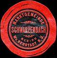 Siegelmarke Marktgemeinde Schwarzenbach Bezirk Wiener Neustadt W0391213.jpg