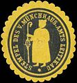 Siegelmarke Stempel des V. Münchhaus. Amts Leitzkau W0349397.jpg