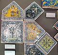 Siena, mattonelle dal palazzo del magnifico petrucci a siena, 1509 ca, 05.JPG