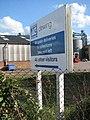 Sign at entrance to Aylsham Industrial Estate - geograph.org.uk - 1290384.jpg