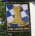 Sign for the Castle Inn, Rowlands Castle - geograph.org.uk - 853810.jpg