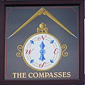 Sign for the Compasses - geograph.org.uk - 1047950.jpg