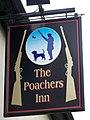 Sign for the Poachers Inn - geograph.org.uk - 1062433.jpg