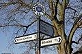 Signpost at Wilmcote - geograph.org.uk - 1772660.jpg