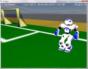 RoboCup 3D Soccer Simulation League - RoboCup 3D on Windows 7