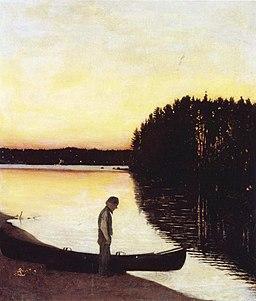 Simberg, Suomalainen elegia