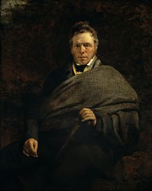 Sir John Watson Gordon - James Hogg, 1770 - 1835. Poet; 'The Ettrick Shepherd' - Google Art Project.jpg