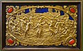 Six Mythological Scenes, 5 Dance of the Bacchants, Antonio Gentili, Rome, c. 1600 AD, modelled c. 1552-1555 AD, gold plate with precious stones - Bode-Museum - DSC02537.JPG