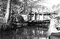 Skryjský mill, 1968, wooden sluice gates, 16scan314.jpg
