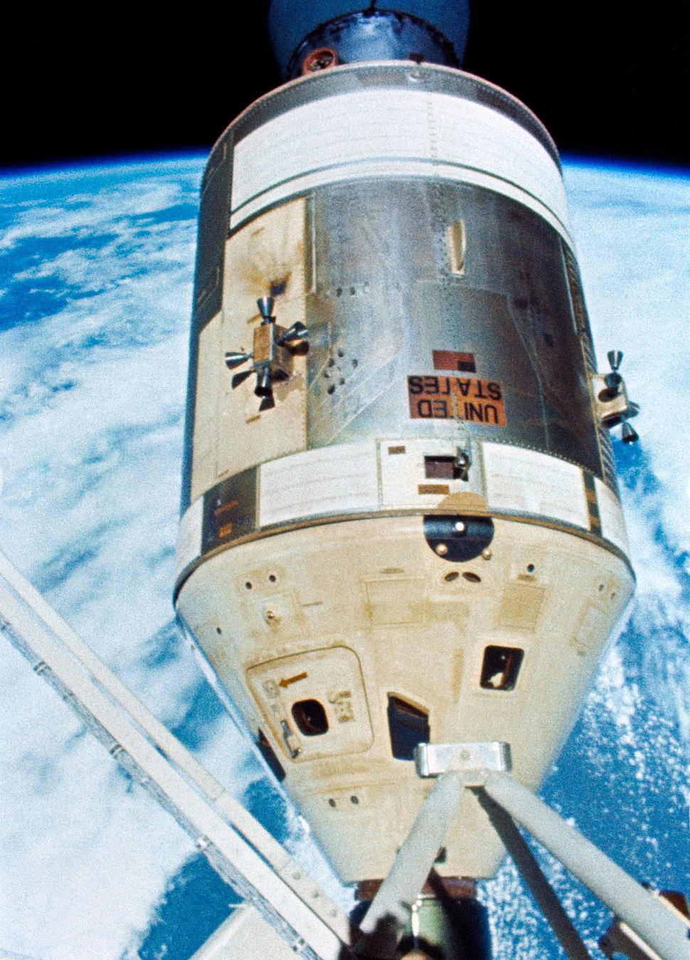 Skylab 4 - command service module