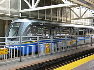 Automated guideway transit - Skytrain Mark II, Vancouver, BC, Canada