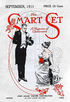 The Smart Set - Cover of September 1911 issue