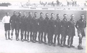 Stade Malherbe Caen - First professional team of Stade Malherbe, 1934–1935 season