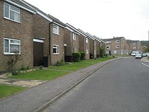 English: Social housing in Tipper Lane