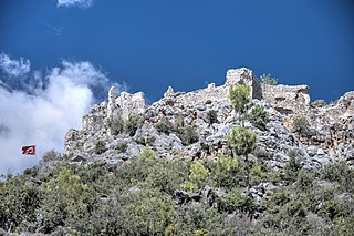 Softa Castle Archaeological site in Turkey