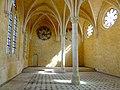 Soissons (02), abbaye Saint-Jean-des-Vignes, réfectoire, vue vers le nord.jpg